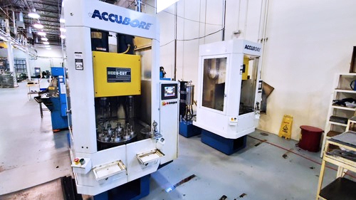 AccuCut 6smI 6 Spindle Vertical Booring Machine