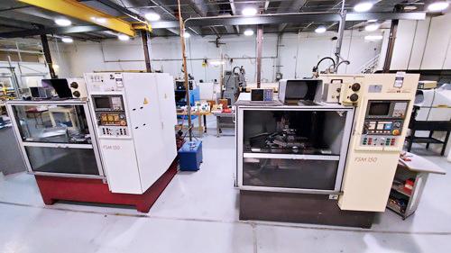 Doebeli FSM150XYZ CNC Tool Grinder