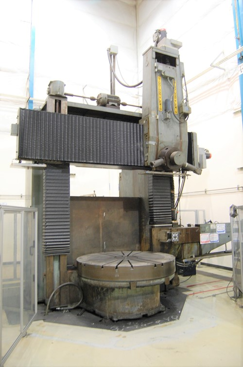 Giddings - Lewis 70-72 Vertical Turret Lathe-1