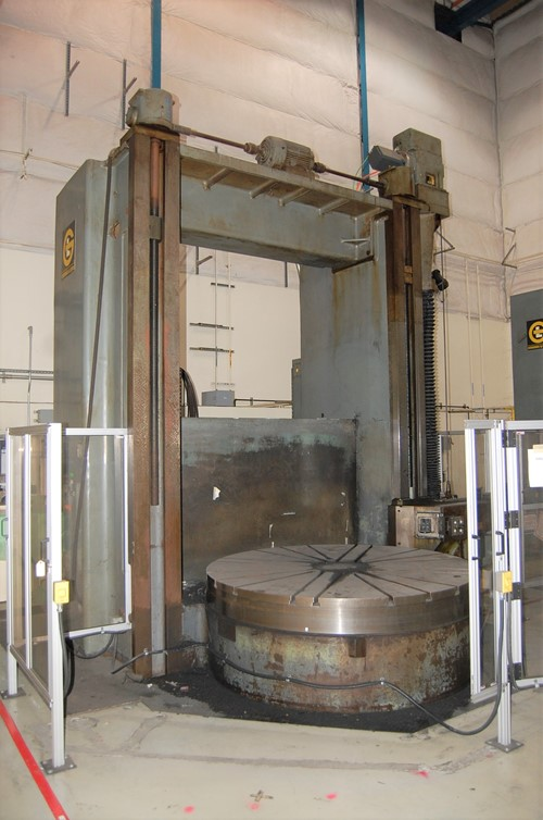 Giddings - Lewis 84 Vertical Turret Lathe-1