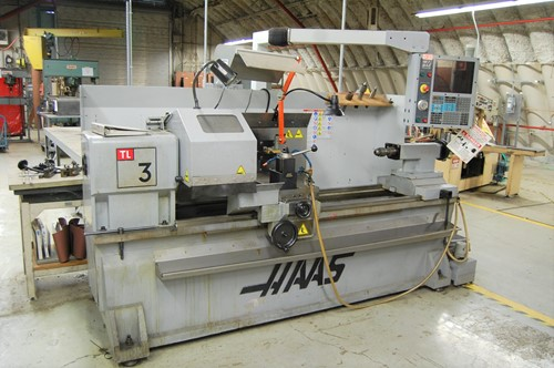 Haas TL 3 CNC Lathe-1