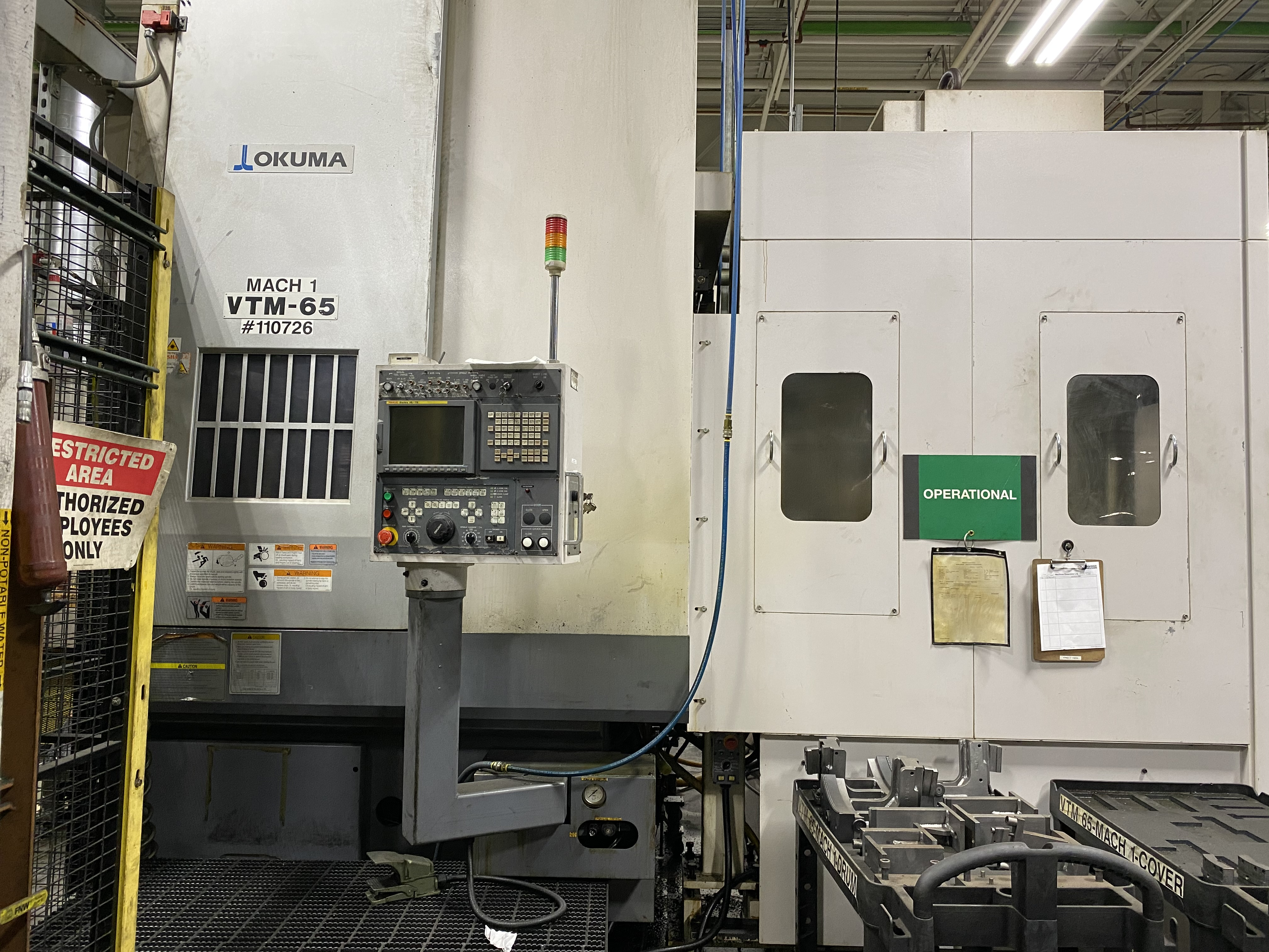 Okuma VTM-65 CNC Vertical Turning Centers