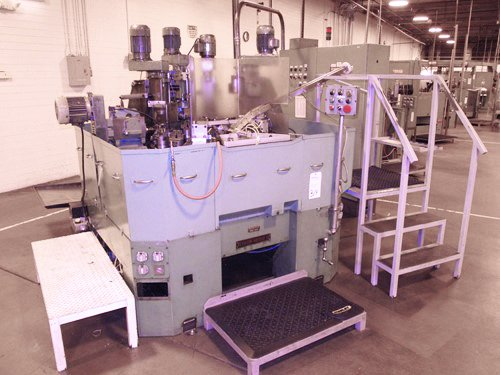 Mikron Multi Factor 50-012 12 Station Rotary Transfer Machine