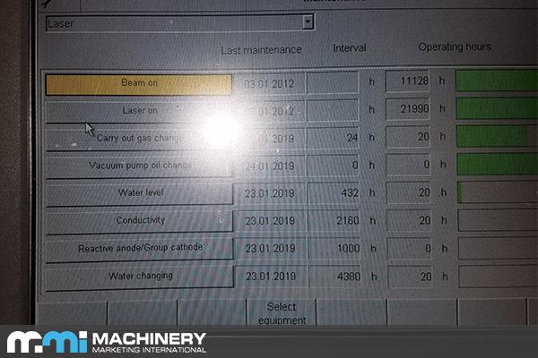 Trumpf TruLaser L2030 2012 3.2KW